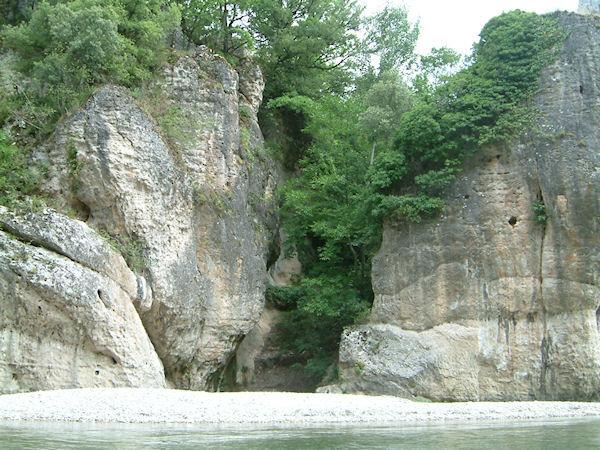 Les Gorges du Tarn au départ de La Maleine