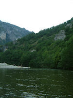 Les Gorges du Tarn vers Le Claux