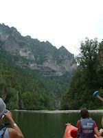 Les Gorges du Tarn vers Gaujac