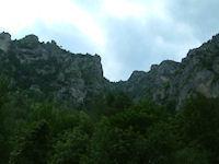 Les Gorges du Tarn vers La Croze