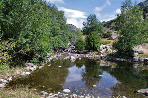 Petit laquet sur la rivière d_Angoustrine