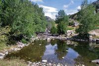 Petit laquet sur la riviere d'Angoustrine