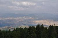 Fontromeu depuis le teleski de Roques Blanches