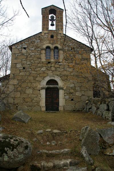 La chapelle Saint Fructueux à Brangoli