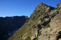 Le Canigou et derriere le Pic Barbet depuis La Porteille