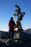Calmille au sommet du Pic du Canigou