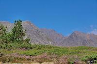 Le Puig Carlit encadre par le Tossal Colomer et le Carlit de Baix