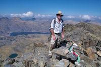 Fred au sommet du Puig Carlit