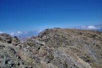 Le sommet Sud du Puig Carlit