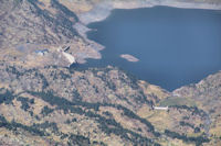 Le barrage de l'Estany de Lanos