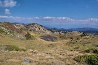 Une combe au dessus de l'Estany de Trebens
