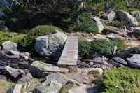 Petit pont sous l'Estany de les Dugues