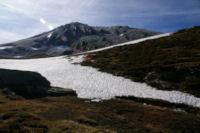 Les Cresta dels llosers gelees en montant vers la Portella de la Coma d en Garcia