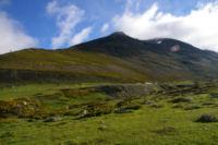 Les Pic de Tossal Mercader et de Querforc depuis la Coma d en Garcia