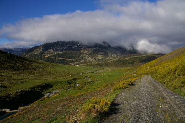 La Coma d en Garcia, la station de Porte Puymorens dans les nuages