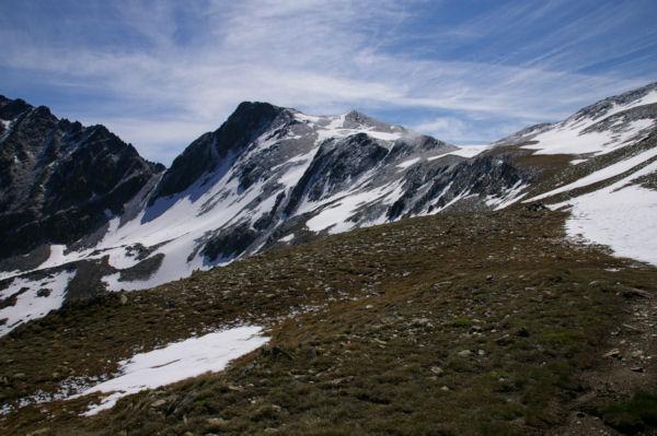 Le Puig de Coma d Or depuis la crête Nord Ouest du Cap de Llosada