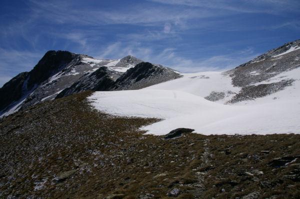 Le Puig de Coma d Or depuis le versant Nord du Cap de Llosada
