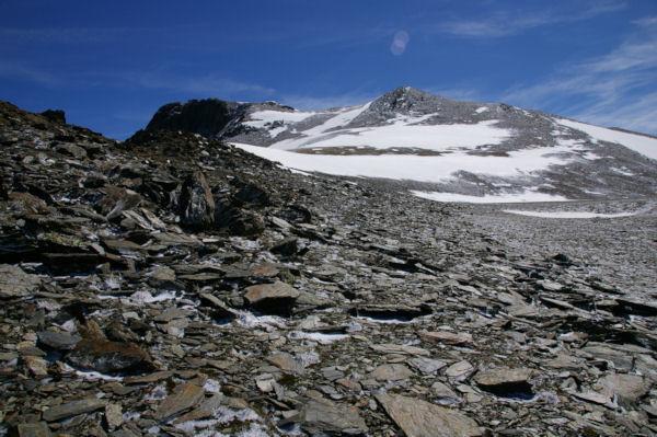 Les dernières pentes avant d accéder au Puig de Coma d Or