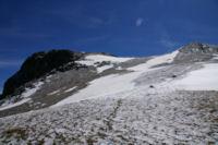 Les dernieres pentes avant d acceder au Puig de Coma d Or