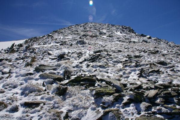 Ambiance glacière sur l antécîme du Puig de Coma d Or