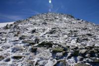 Ambiance glaciere sur l antecime du Puig de Coma d Or