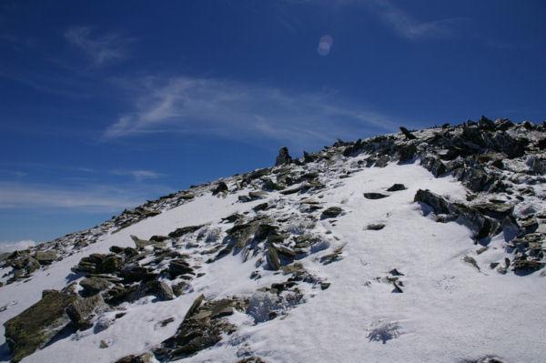 Méga cairn sur l antécîme du Puig de Coma d Or