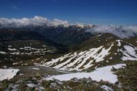 Les vallees de Querforc, de Cortal Rosso et du Carol depuis l antecime du Puig de Coma d Or