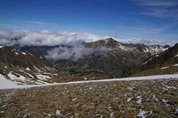 Le Pic d Auriol depuis les pentes Ouest du Puig de Coma d Or
