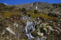 Cascades sur les pentes de la Sola de Cortal Rosso