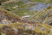 La canalisation d eau qui sert de chemin pour rejoindre la vallee de Querforc