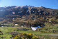 Les Cresta dels llosers gelees depuis la Coma d en Garcia