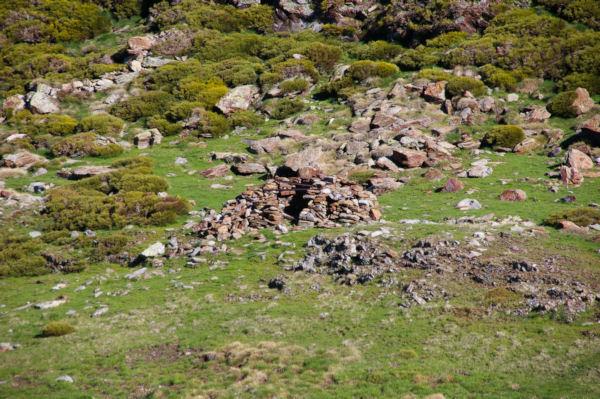 Un orri en ruine dans la Coma d en Garcia