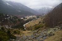 Le vallon de Font Viva depuis Cortal Michette