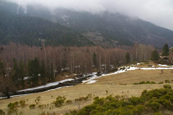 Le vallon de Font Viva depuis Els Camps de la Costa