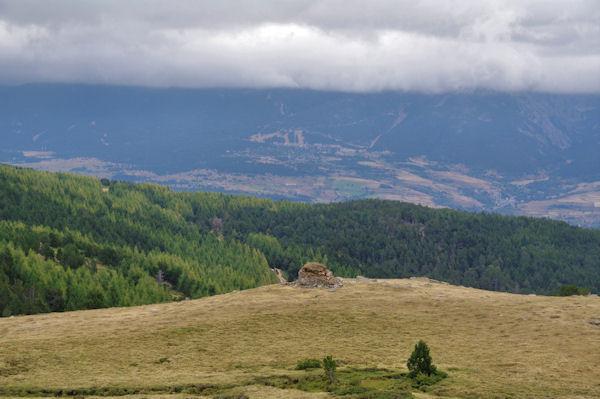 La vallée de Font Romeu depuis la Jacca d_Amunt