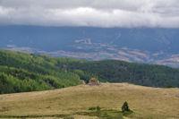 La vallee de Font Romeu depuis la Jacca d'Amunt