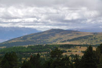 Le Pic dels Moros depuis la Gallinera