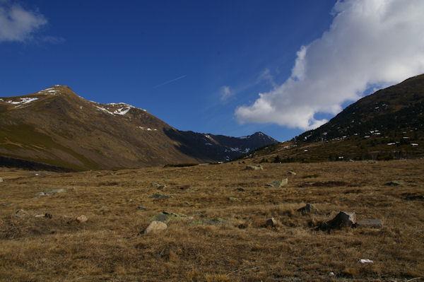 Au départ du Col de Puymorens