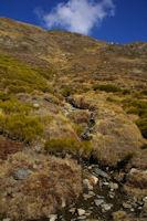 Un petit ruisseau qui descend du Pic de Tossal Mercader
