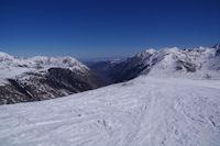 La haute vallee de l'Ariege, vers l'Hospitalet pres l'Andorre