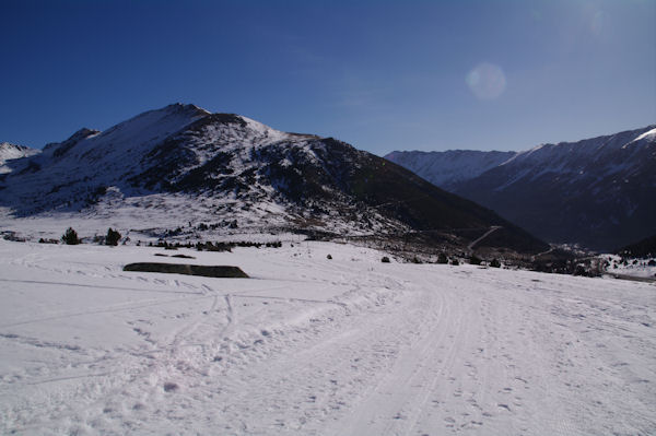 La Serra de les Lloses au dessus du Col de Puymorens