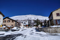 L-antecime du Pic dels Moros depuis Targassonne