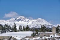 Les Pics Peric depuis le Pic dels Moros