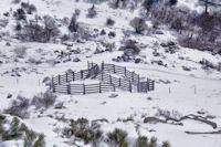 Un parc a moutons dans le Rec de Ribals