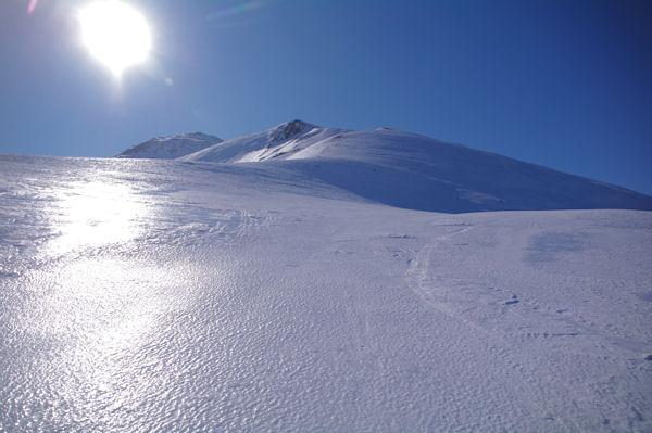 La crête Nord du Pic dels Pedrons, bien tolée