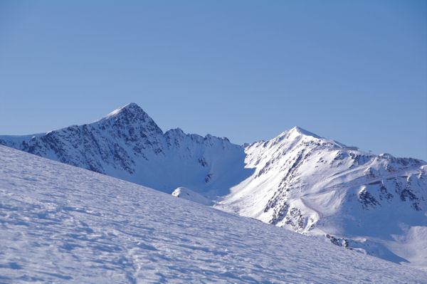 Le Pic Nègre d_Envalira et le Pic Blanc