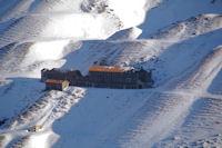 Les anciennes mines de Pimorent sous le Pic de la Mina