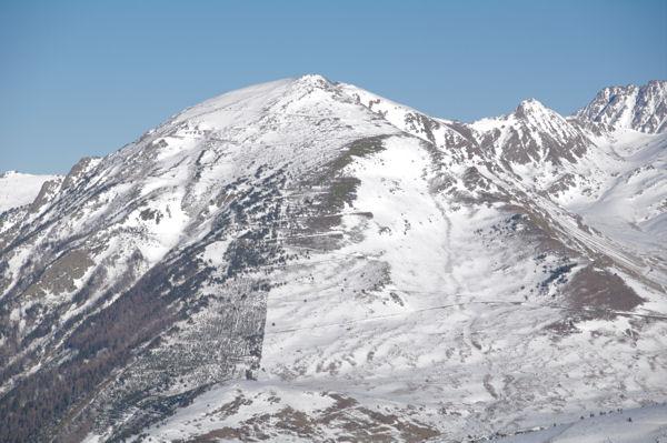 Le Pic de Tossal de Mercader, le Pic de Querforc et le Puig de Trespunts
