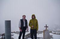 Fabrice et Fred au sommet du Puig de Campcardos