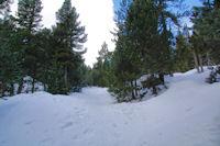 Le sentiers vers Els Esquits